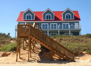 Oceanfront homes, beach home, waterfront homes, living on the beach 5 things to know before you buy a waterfront home